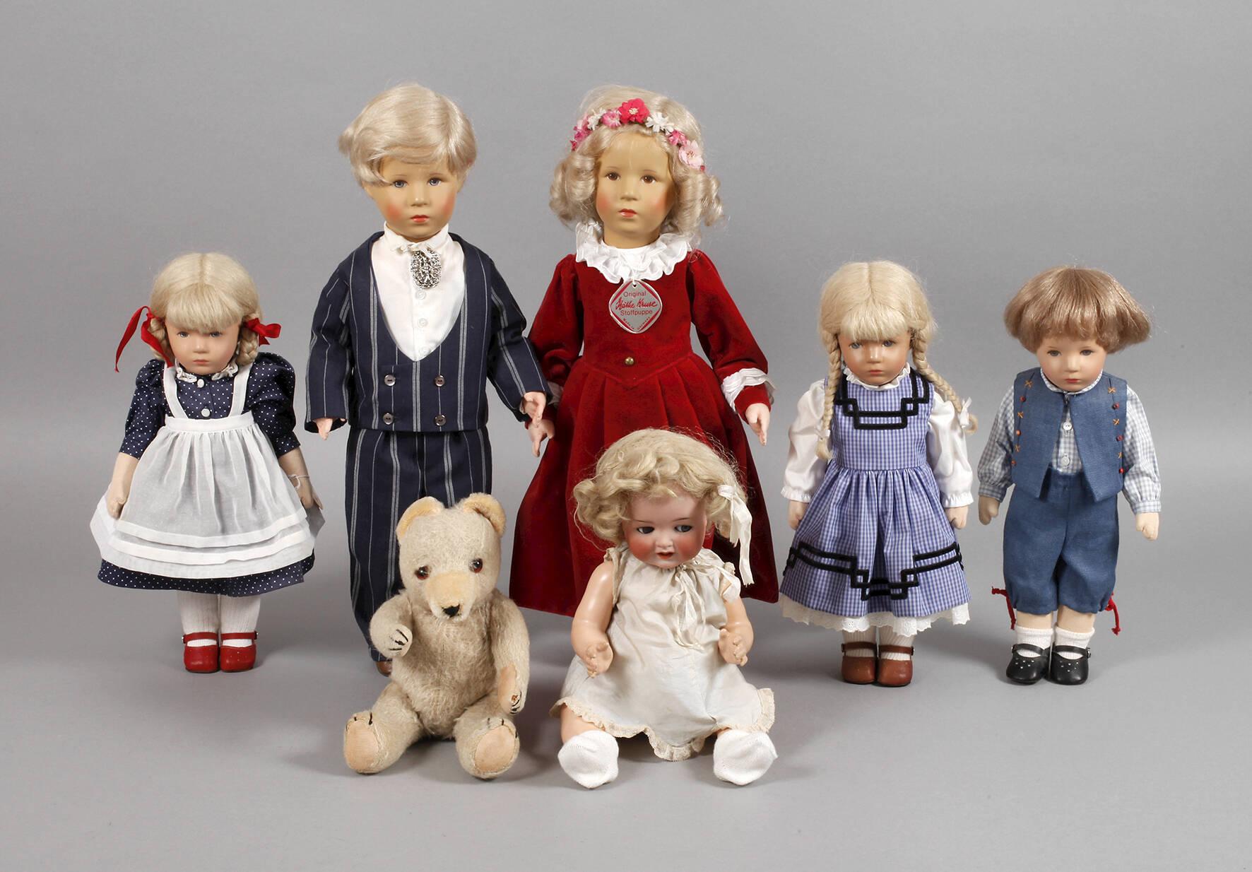 Sammlung Käthe Kruse Puppen und Teddy