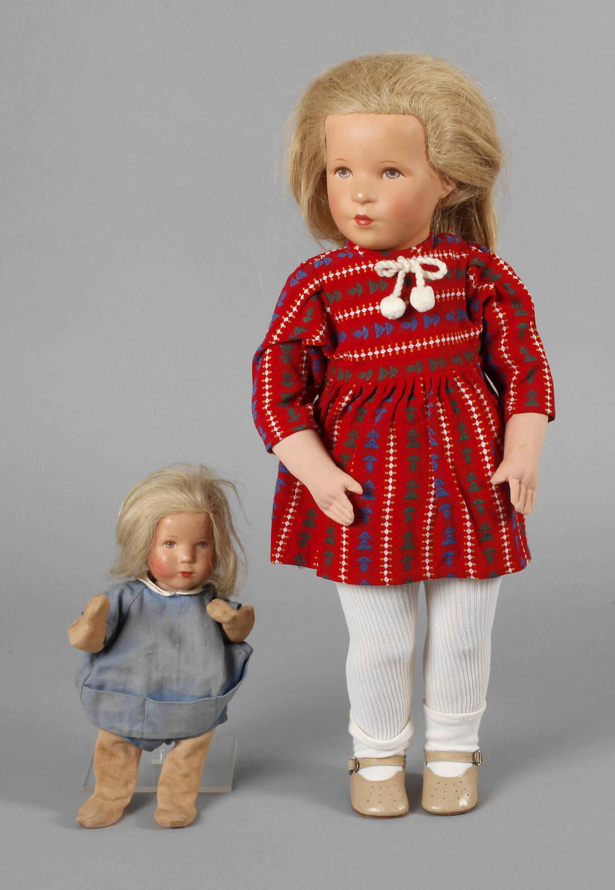 Zwei Käthe Kruse Puppen