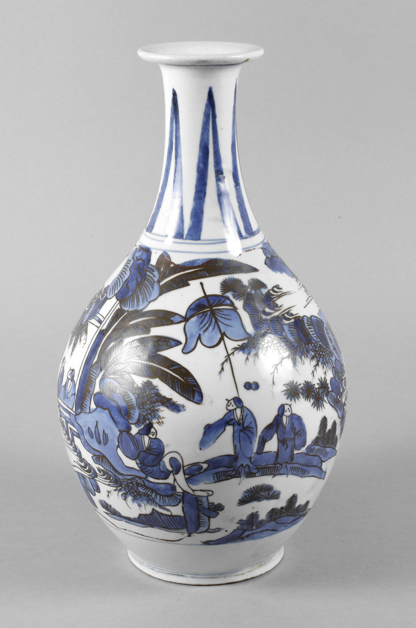 Balustervase China