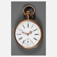 Herrentaschenuhr Gold111