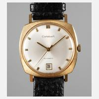 Herrenarmbanduhr Cortebert Gold111